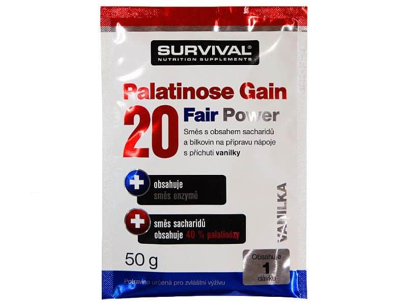 Palatinose Gain 20 Fair Power - vzorek (50 g)