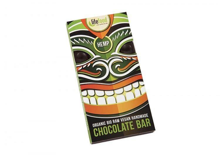 Raw čokoláda s konopným semínkem BIO 70 g
