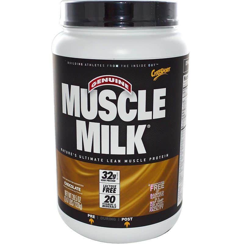 Cytosport Muscle Milk 1120g Čokoláda