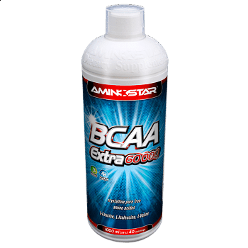 BCAA extra liquid 1000ml, broskev