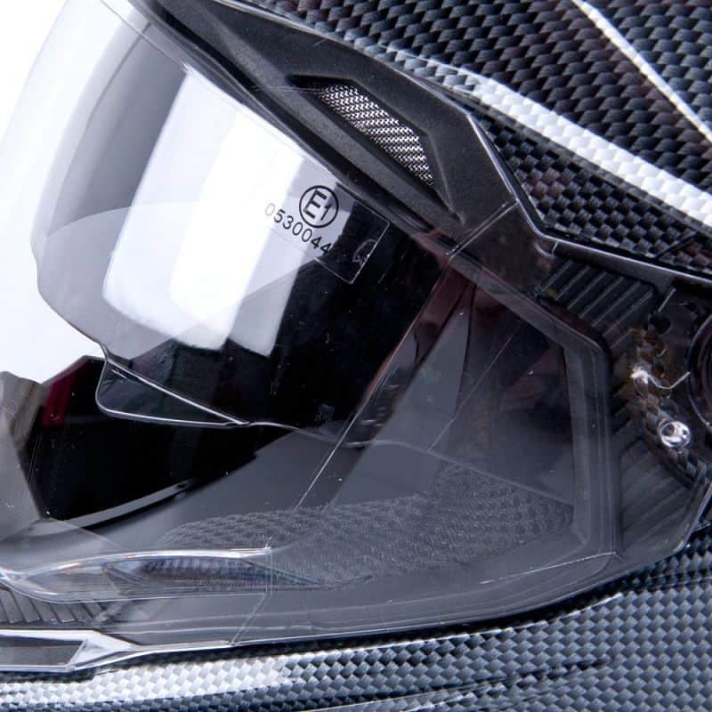 Motokrosová přilba W-TEC AP-885 carbon look