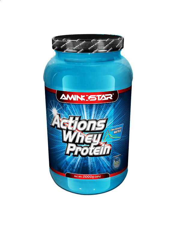 Whey Protein Actions 65 2000g, banán