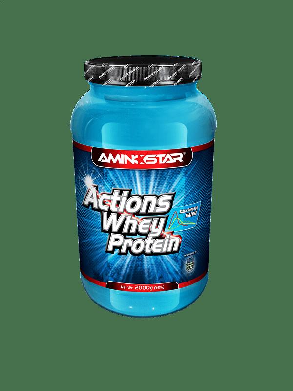 Whey Protein Actions 65 4000g, vanilka
