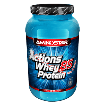Whey Protein Actions 85 2300, banán