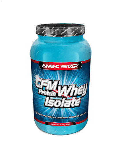 CFM Whey Protein Isolate 1000g, banán