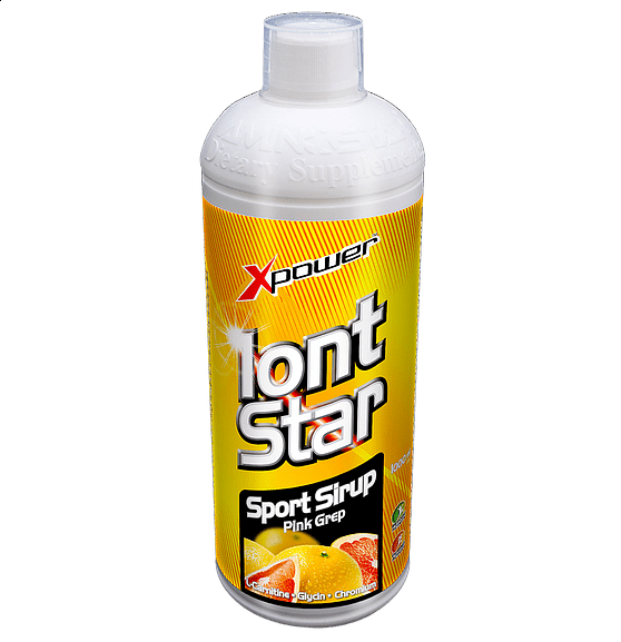 IontStar Sport Sirup 1000ml citron