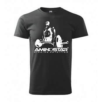 Pánské tričko Aminostar - černé XL černé
