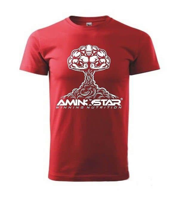 Pánské tričko Aminostar - červené
