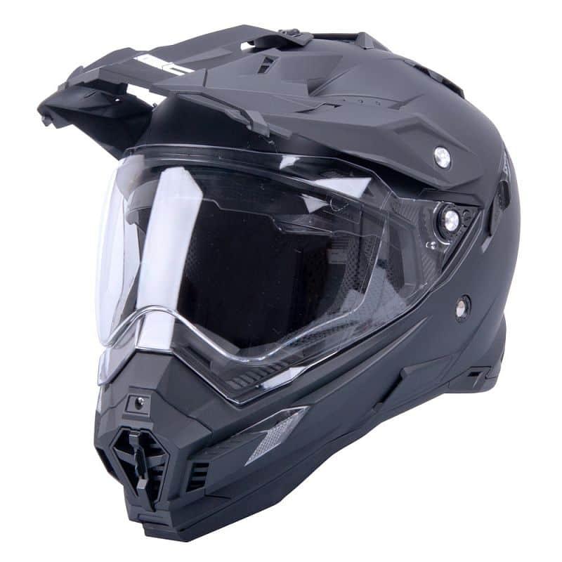 Motokrosová přilba W-TEC AP-885 Barva Pearl Black, Velikost XL (61-62)