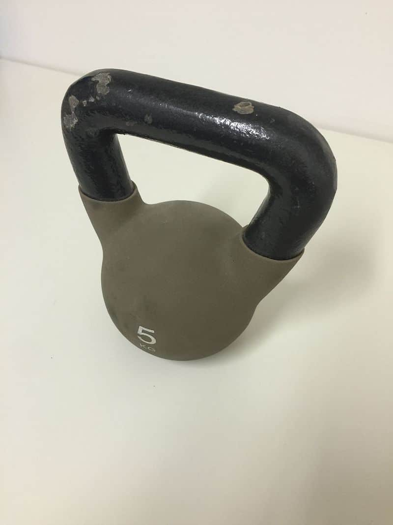 Reebok Kettlebell 5 kg - 2.jakost