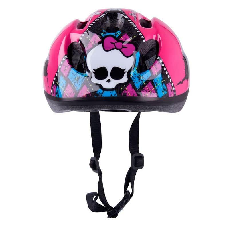 Dětský set Monster High - helma + chrániče kolen a loktů
