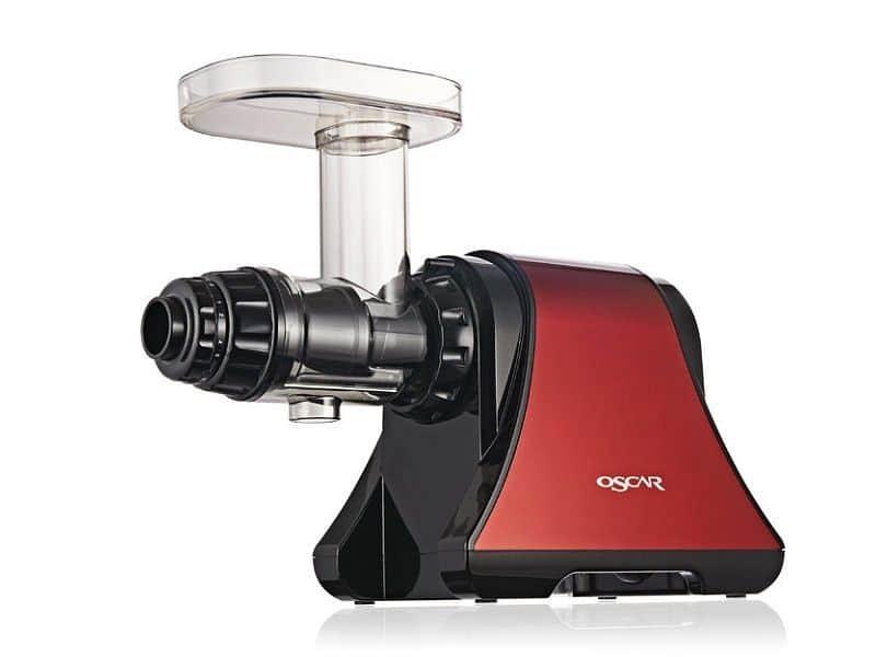 Šnekový odšťavovač Oscar DA-1200 červený