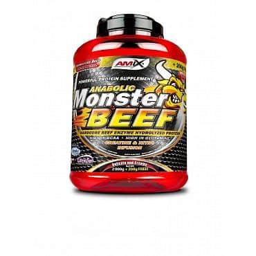 Anabolic Monster Beef 1 kg Banán - jahoda