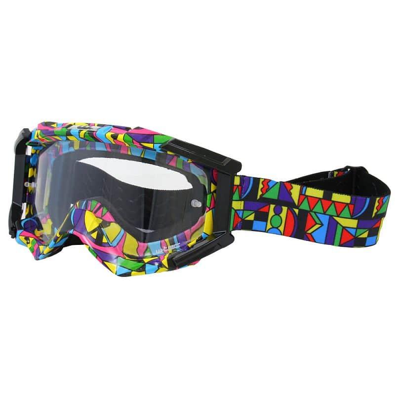Motokrosové brýle W-TEC Major s grafikou Barva barevná grafika