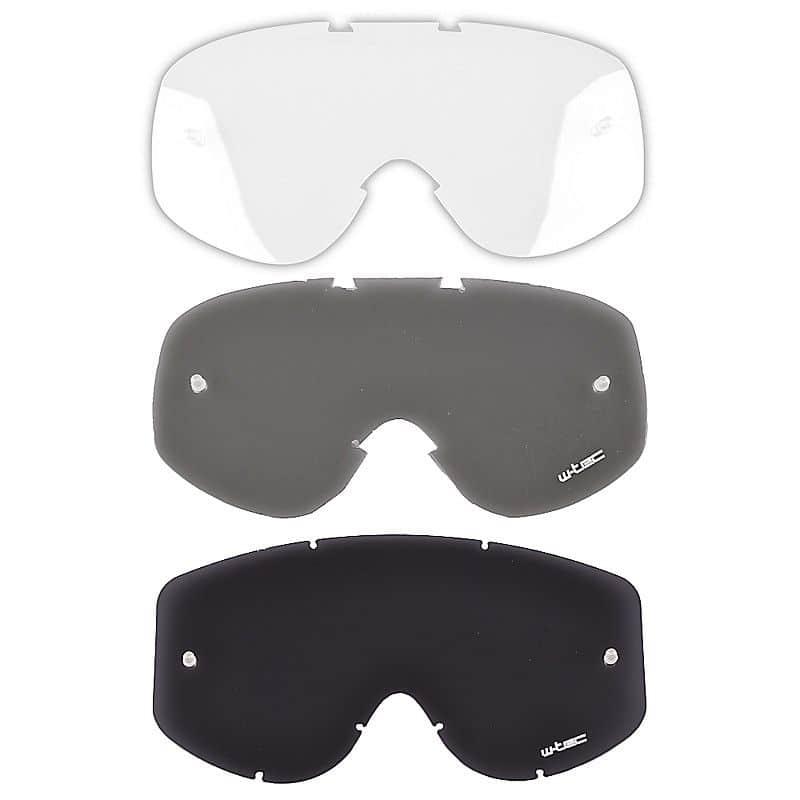 Náhradní sklo k moto brýlím W-TEC Benford