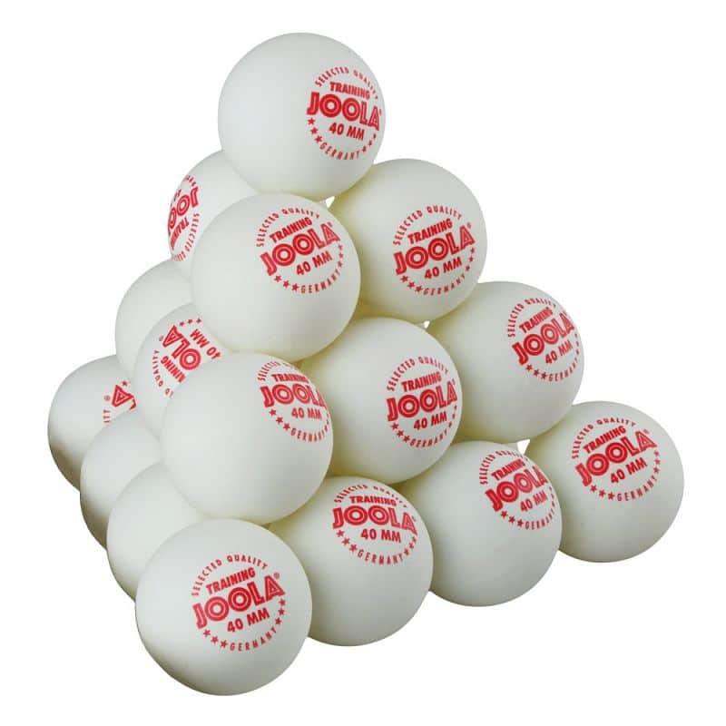 Sada míčků Joola Training 120ks Barva oranžová