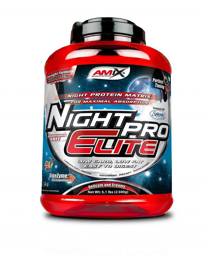 NightPro Elite Protein Amix 1000 g Čokoláda