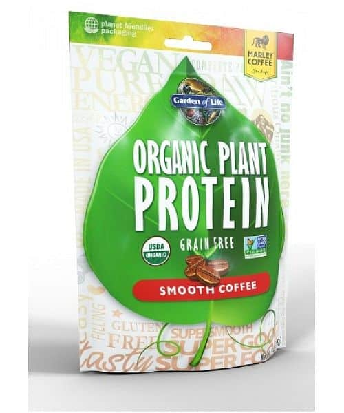 Garden of Life Organic Plant Protein 260 g marley coffee 260g