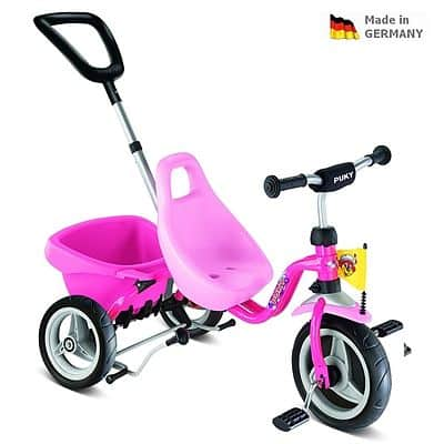 Tříkolka PUKY Carry Touring Tipper CAT 1 S pink