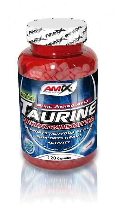 Taurine 1000mg Amix 120cps