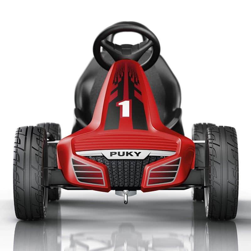Dětská šlapací kára PUKY Go Cart Air F 550L černo/červená