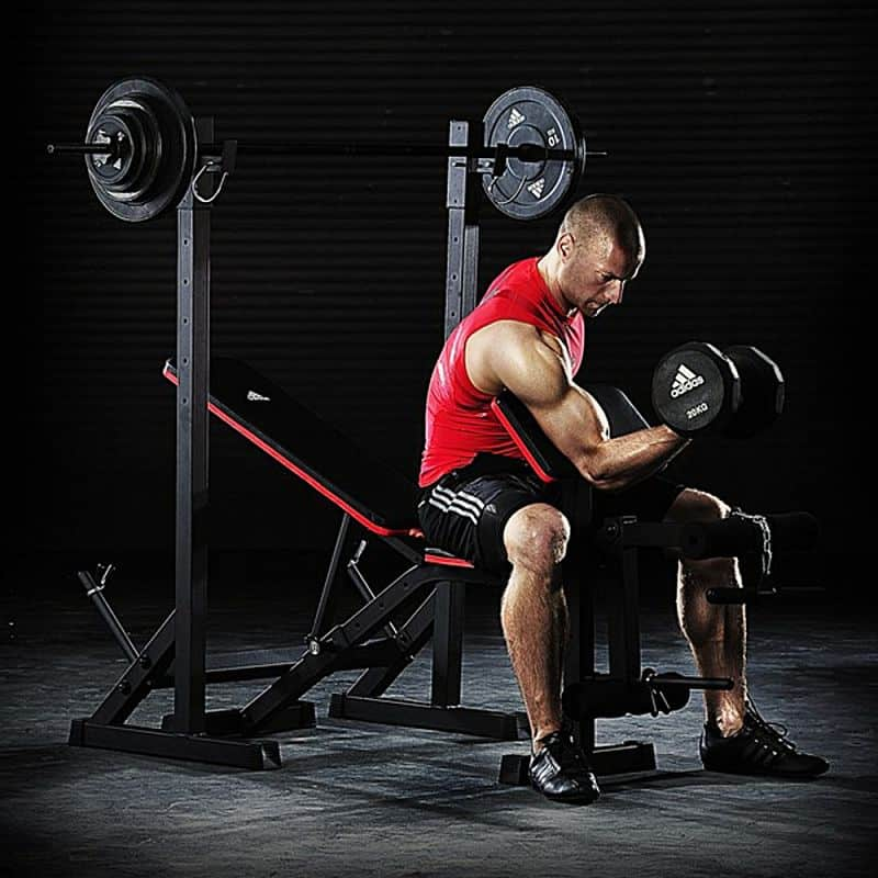 Posilovací lavice benchpress ADIDAS Essential Workout Bench