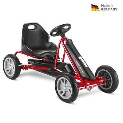 Dětská šlapací kára PUKY Go Cart F 20 černo/červená