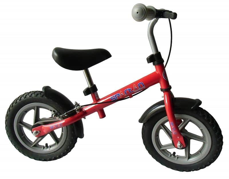 Dětské odrážedlo - kolo SPARTAN Training Bike - červené