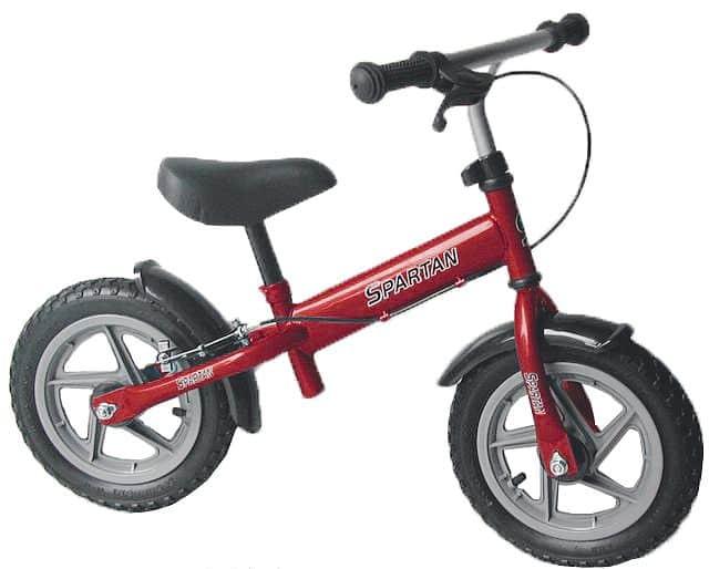 Spartan odrážedlo kolo Training Bike červené Červená