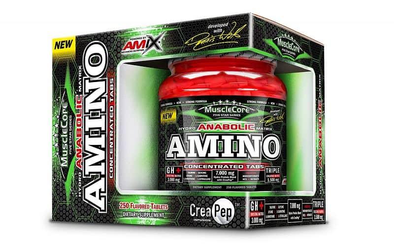 AMIX Amino Tabs with CreaPep® 250tbl.