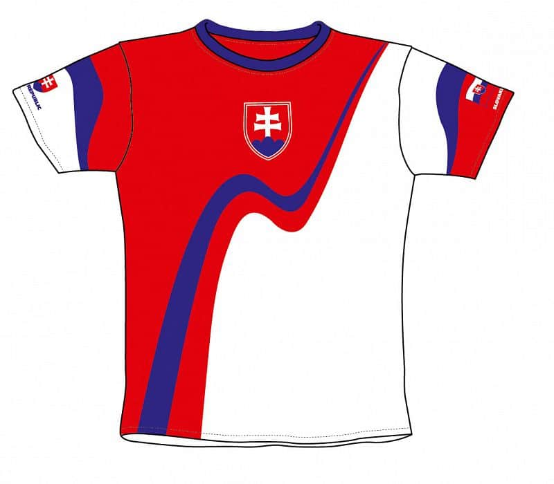 Fotbalový dres SR 4 dětský