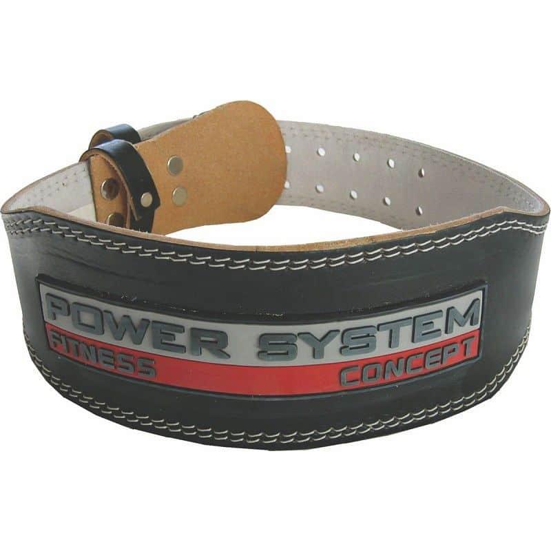 POWER SYSTEM Fitness opasek POWER BLACK S