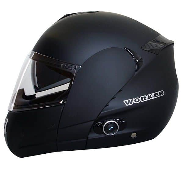 Moto přilba WORKER V210 Bluetooth + Interkom  3beb46f2e0