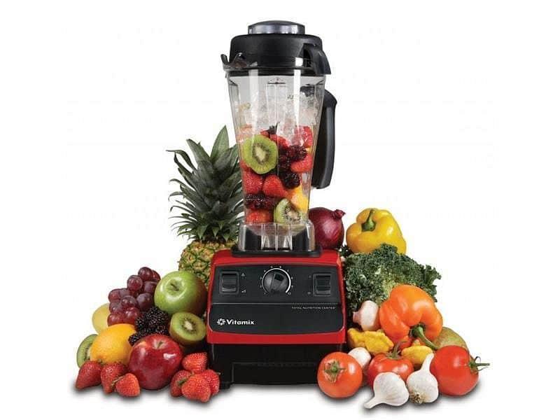 Mixér Vitamix TNC 5200 - červená