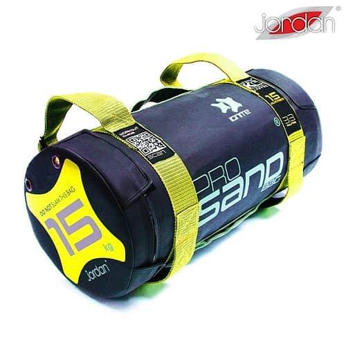 Powerbag - Sandbag JORDAN 15 kg žlutý