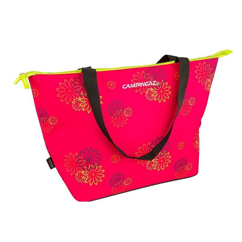 SHOPPING COOLER 15L pink daisy