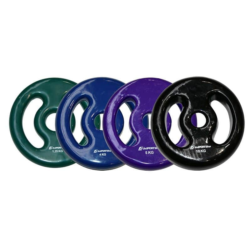 Sada vinylových kotoučů inSPORTline Ergo 2x 1,25-10 kg