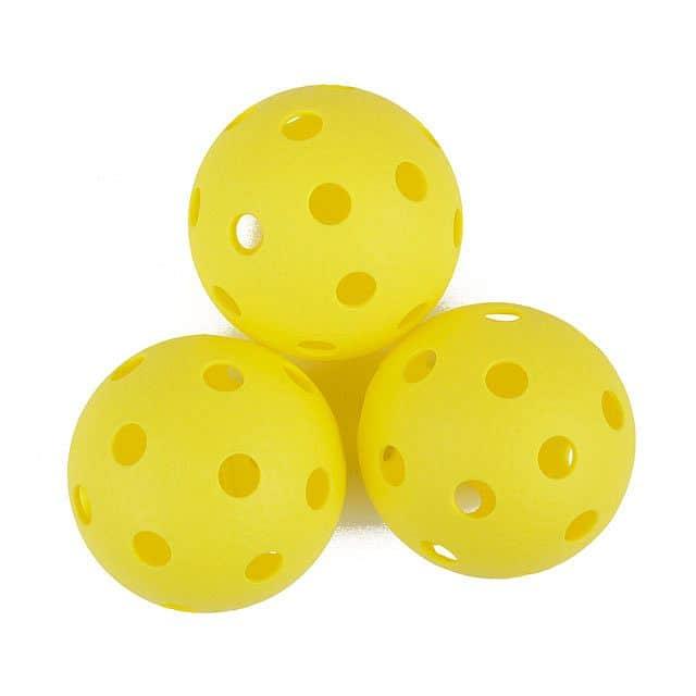 TURN-Florbalové míčky 3ks žluté