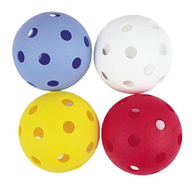 DOMAIN-Florbalové míčky 4ks barevné