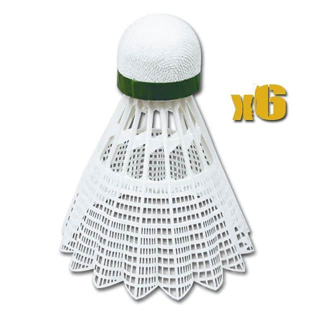 AIR TEC- Míčky na badminton 6ks nylonové