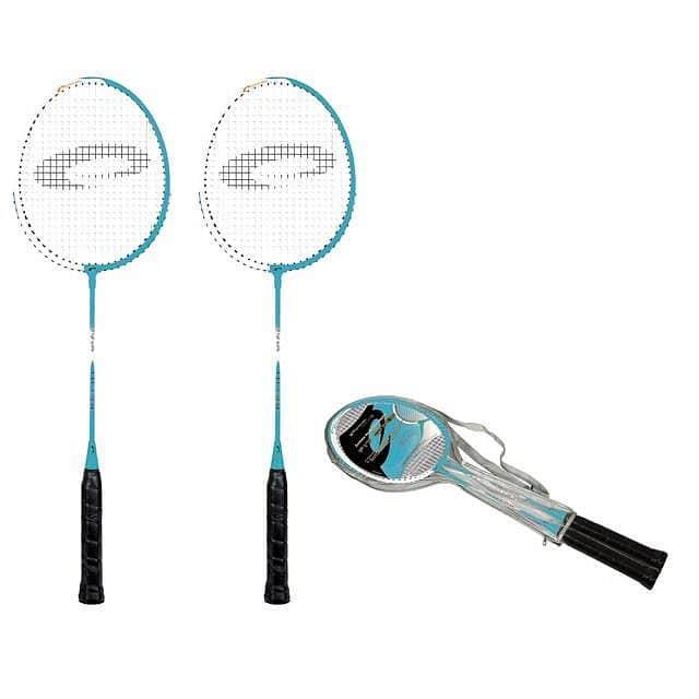 FIT ONE BLUE Sada na badminton modrá