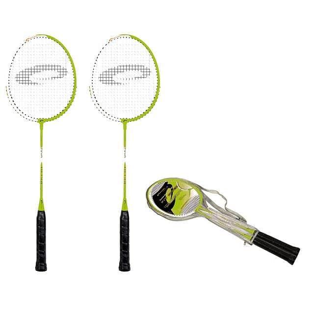 FIT ONE GREEN Sada na badminton zelená