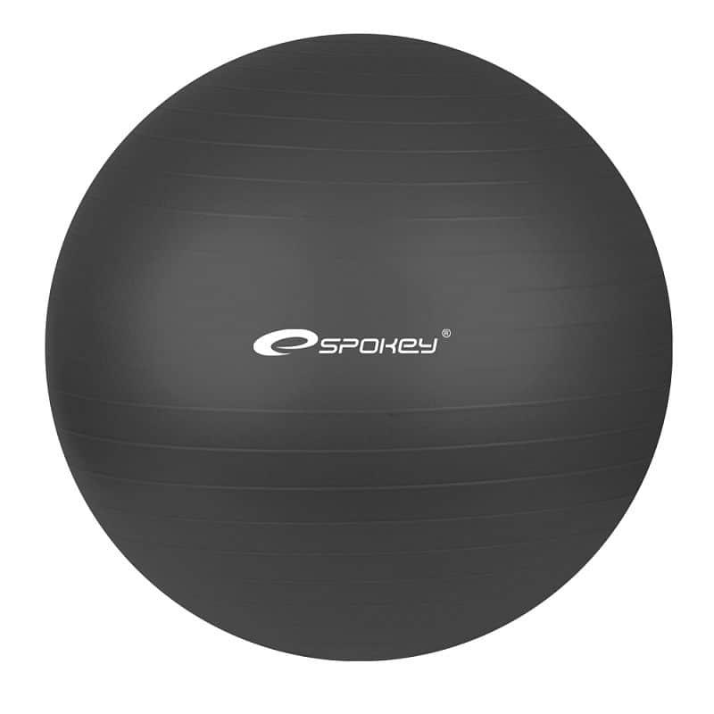 Gymnastický míč 75 cm včetně pumpičky,  černý