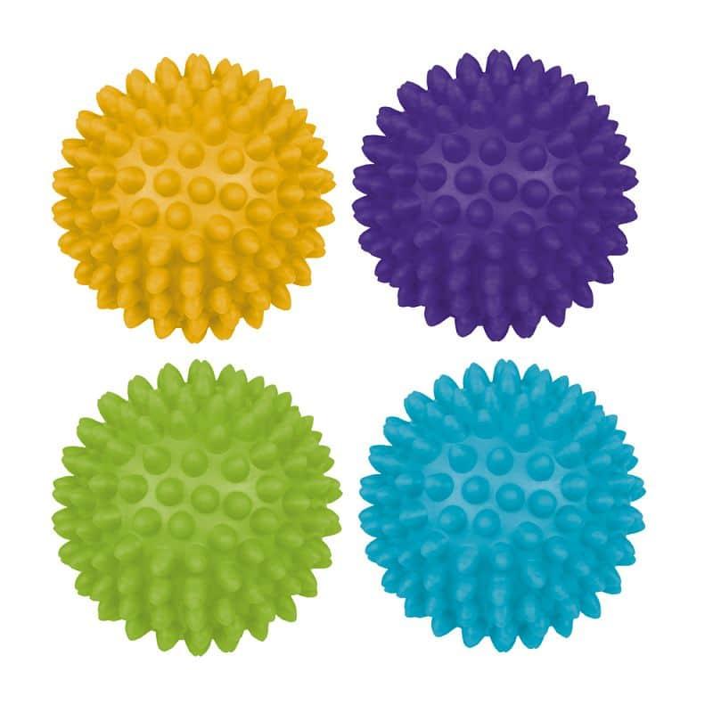 GRESPI - Masážní míčky 65 mm 4ks
