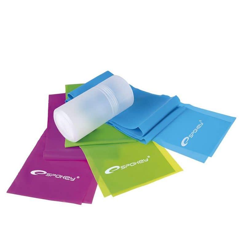 BOUNCE Fitness gumy, 3 ks, 3 stupně napětí