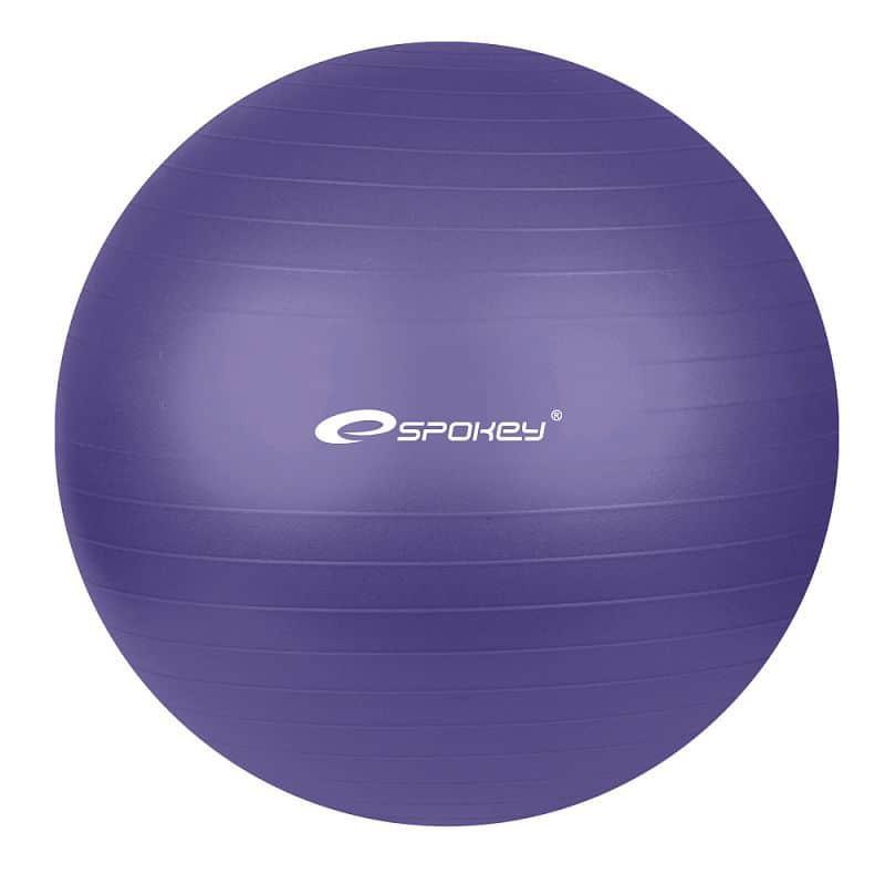FITBALL- Gymnastický míč 75 cm včetně pumpičky, fialový