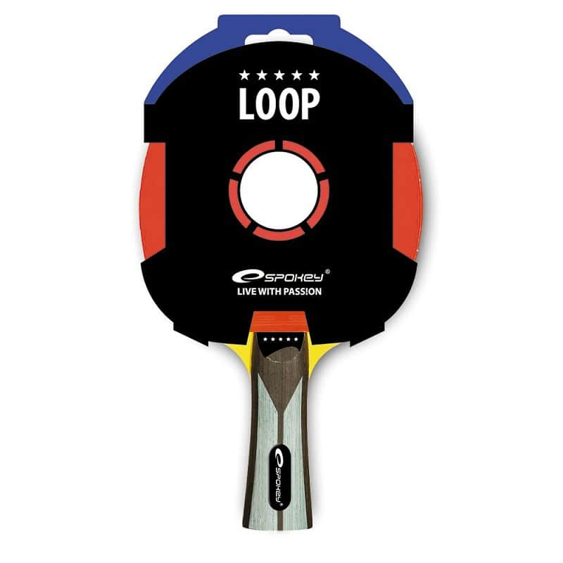 LOOP-Pingpongová pálka ***** profilovaná rukojeť