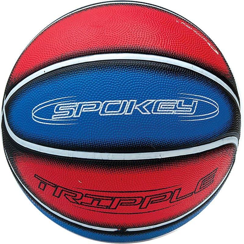 TRIPPLE Míč na košíkovou modro-červený 7