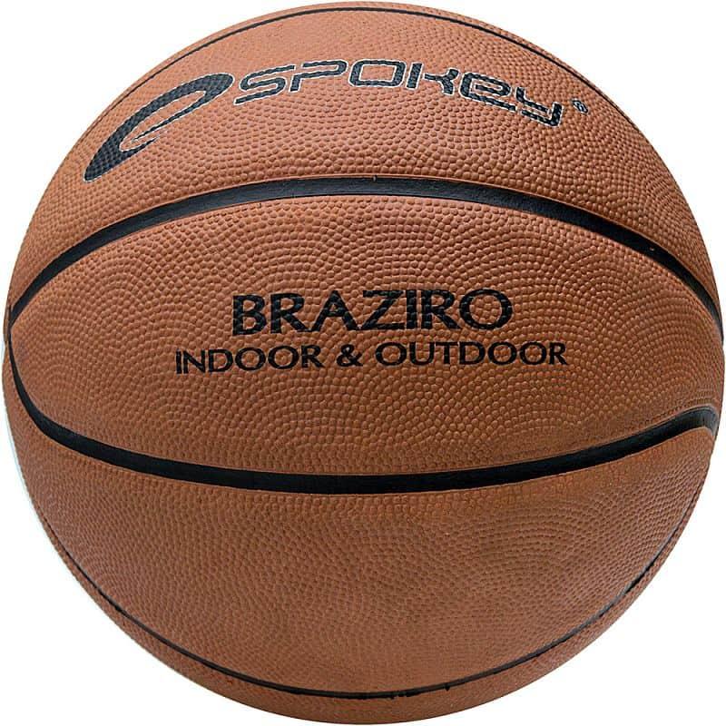 BRAZIRO Míč na košíkovou hnědý 7