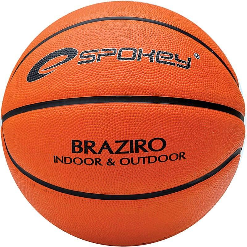 BRAZIRO Míč na košíkovou oranžový 7